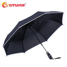 Self-Defense Security Umbrella safety hammer reflective stripe Super Tactical