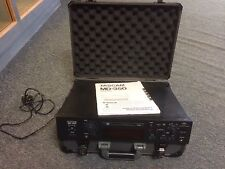 Tascam MD-350 Professional MiniDisc Player/Recorder with Flight Case