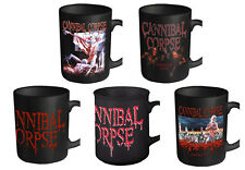 Cannibal Corse Mug Classic Tomb band logo Official New Boxed