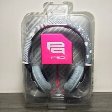 Sony Piiq On-Ear Headphones Gray/Pink NEW NIB DS NOS SONY