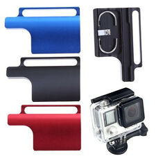 Three Color CNC Aluminum Lock Buckle for GoPro Hero 3+ 4 Protective Housing Case