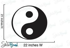 Vinyl Wall Decal Sticker Ying Yang (S)