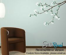 Vinyl Wall Decal Sticker Flower Tree Branch 832s