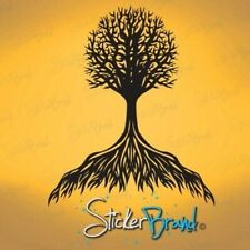 Vinyl Wall Decal Sticker Flowing Tree Roots