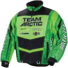 Arctic Cat™ Men's Team Arctic Pro Flex Snowmobile Jacket - Lime/Black - 5251-11_