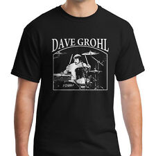New FOO FIGHTERS T shirt Dave Grohl on Tama Drums - Nirvana Rock Shirt