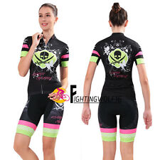 CHEJI Cycling Jersey Sets Quick-drying Clothing Ropa Ciclismo Skull Maillot Suit
