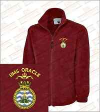 HMS ORACLE Crested Embroidered Fleeces