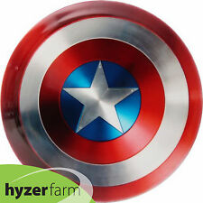 Dynamic Discs CAPTAIN AMERICA SHIELD FUZION JUDGE 175g Hyzer Farm disc golf