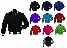 Premium All Wool Varsity Letterman Baseball School College Jacket All Colors