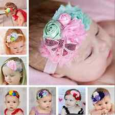 Lots Flower Bow Headband Hairband Accessories Girls Baby Infant Toddler Children