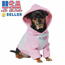 California Costumes Pink Ribbon Hoodie BCRF Dog Puppy Pet Costume PET20144