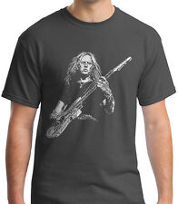 ALICE IN CHAINS Rock Band Graphic T-shirt Jerry Cantrell Guitar Rock Shirts
