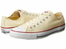 CONVERSE ® CHUCK TAYLOR NATURAL WHITE LOWTOP UNISEX  SHOES ORIGINAL & NEW IN BOX