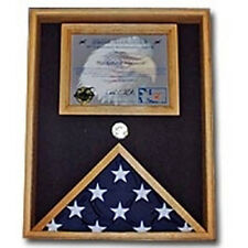 Military Certificate Case, Military flag and document case Hand Made By Veterans