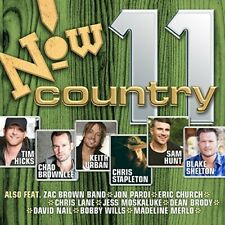 VARIOUS ARTISTS - NOW COUNTRY, VOL. 11 NEW CD