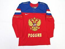 TEAM RUSSIA RED NIKE 2014 SOCHI WINTER OLYMPICS MEN'S ICE HOCKEY JERSEY