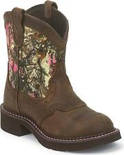 CHILDREN'S JUSTIN GYPSY PINK CAMO WESTERN COWGIRL BOOTS 9610JR