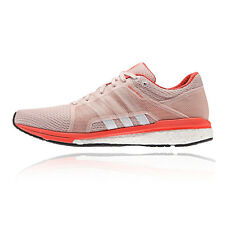 Adidas Adizero Tempo 8 SSF Womens Pink Cushioned Running Racing Shoes Pumps
