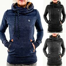 Women Casual Hooded Hoodie Women Long Sleeve Pocket Slim Pullover Top Sweatshirt