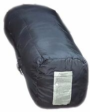 Sleeping Bag US Army Black Intermediate Cold Weather Mummy-Style MSS good