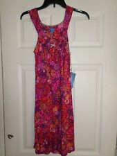 sIMPLY vERA wANG Floral Nightgown Soft Jersey Size XS Women's  L@@K!