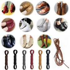 6Colors Round Waxed Shoelaces Hot Oxford Dress Canvas Sneaker Shoe Laces Strings