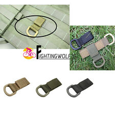 Tactical D-Ring Molle Webbing Buckle Hook Multifunction EDC Carabiner