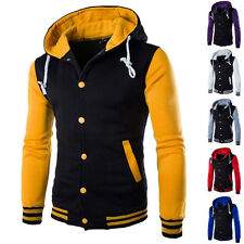 Fashion Sports Casual Hoodies Hoodie Mens Slim Fit Tops Hoody Jacket Sweatshirt