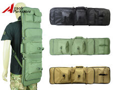 "38""/100CM Tactical Hunting Gun Bag Airsoft Shotgun Rifle Carrying Case Backpack"