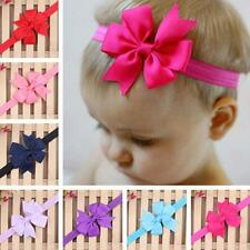 Cute Baby Girls Infant Toddler Flower Bow Bowknot Headband Ribbon Hair Band NEW