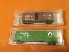 Micro-Trains Canadian Pacific and Canadian National  Boxcars - HC1025T