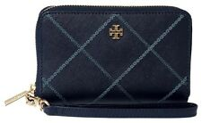 TORY BURCH Robinson Stitched Zip Continental Wallet
