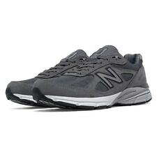 New Balance Men's 990v4 Reflective Running Shoes, Dark Gray - M990GLE4