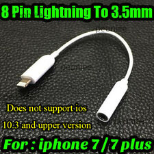 8 Pin Lightning to 3.5mm Headphone Adapter Jack Cable For Apple iPhone 6 7 Plus