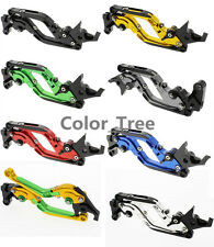 CNC Folding Extend Clutch Brake Levers For YAMAHA R1 R6 FZ8 FZ6 FZ1 FZ6R MT-01