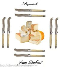 Laguiole Dubost - HORN - Cheese Knives Set (for 4-6-8-10-12 people) from France!