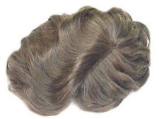 Hairpieces for Men, Hair System Toupee Piece Hand-tied, mesh, polyurethane base