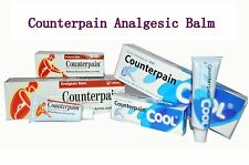 COUNTERPAIN COOL ANALGESIC HOT WARM HEAT RELIEVES ACHES &PAIN 30g 60g 120g
