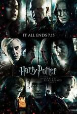 HARRY POTTER AND THE DEATHLY HALLOWS: PART II Movie Promo POSTER Z Emma Watson