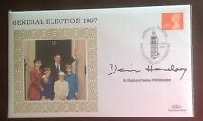 Benham First Day Cover signed by Lord Dennis Healey