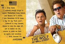 The Wolf of Wall Street Poster Awesome - Leonardo DiCaprio & Jonah Hill. mit G..
