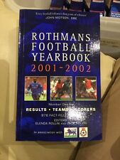 Rothmans Football Yearbook 2001-02