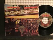 BEATLES~MOVIE MEDLEY/ I'M HAPPY JUST TO DANCE WITH YOU 45 PIC SLEEVE~B-5107~NM