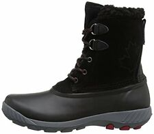 Cougar Women's Maple Sugar Lace-Up Insulated Snow Boots, Black, Size 8.0