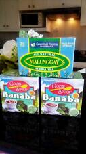 ALL NATURAL HERBAL TEA MALUNGGAY MORINGA ,BANABA HERBAL TEA BAGS
