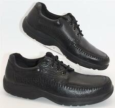Hunter's Bay Men's Black Leather Comfort Lace Up Casual Dress Size 12 Shoes