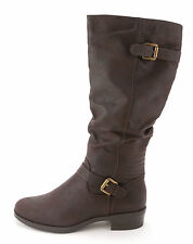 White Mountain Women's Chip Knee-High Ruched Boots