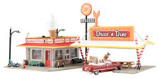 HO Scale  - Drive 'N Dine **BUILT-UP**  by Woodland Scenics #WOO-BR5029-P1