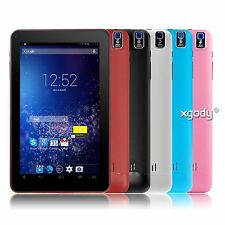 "XGODY 9"" inch Android 4.4 KitKat A33 Quad Core 8GB Dual Camera Newest Tablet PC"